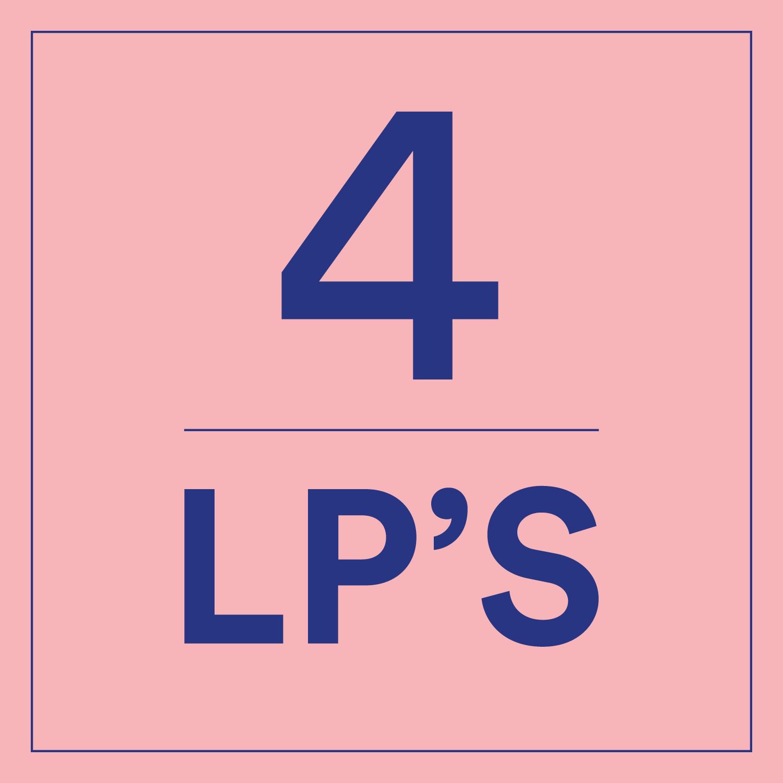 4 x LP