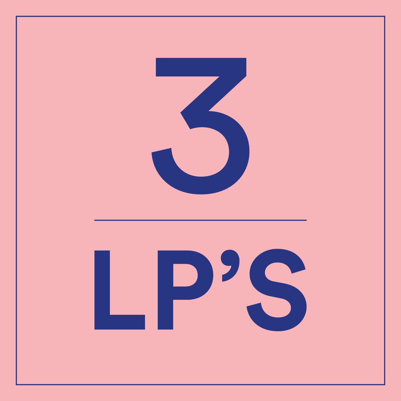 3 x LP
